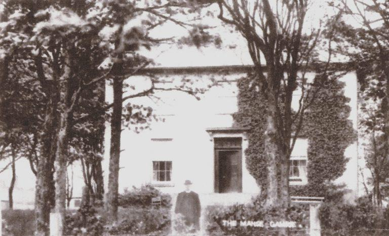 The Rev.Patrick Thomas Clark, The Manse Gamrie
